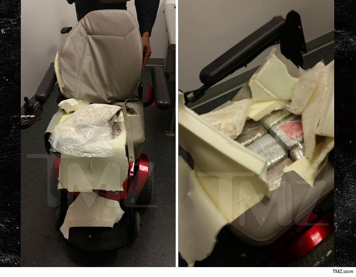 Cocaine Wheelchair